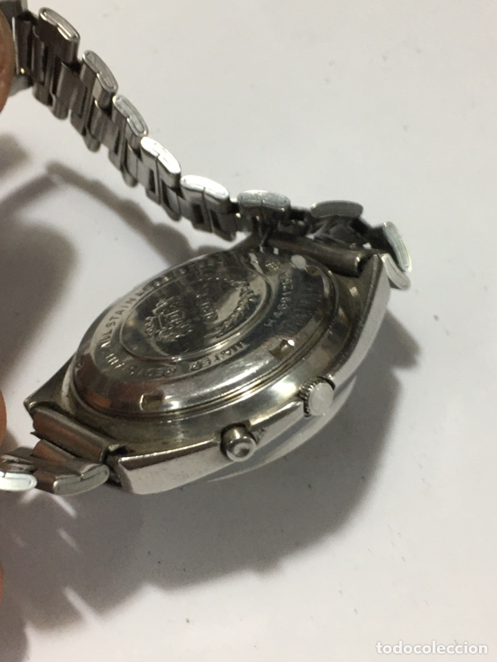 Relojes automáticos: Orient crystal 21 jewels maquinaria japan 46941 vintage - Foto 6 - 186443188