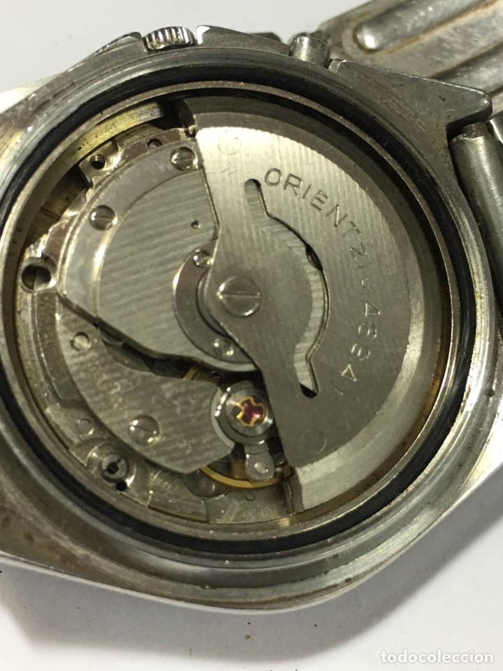 Relojes automáticos: Orient crystal 21 jewels maquinaria japan 46941 vintage - Foto 7 - 186443188