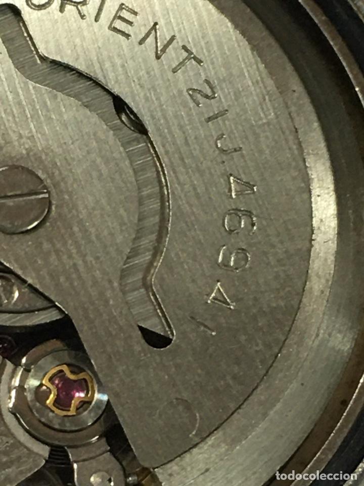 Relojes automáticos: Orient crystal 21 jewels maquinaria japan 46941 vintage - Foto 8 - 186443188