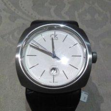 Relojes automáticos: RELOJ CALVIN KLEIN CK DE STOCK DE RELOJERIA NUEVO A ESTRENAR ANALOGICO ACERO INOXIDABLE SWISS MADE. Lote 186448253