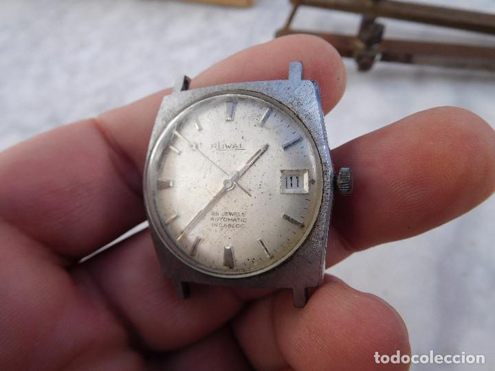 Relojes automáticos: Reloj de carga automática de la marca Ruwal - Foto 3 - 187192715