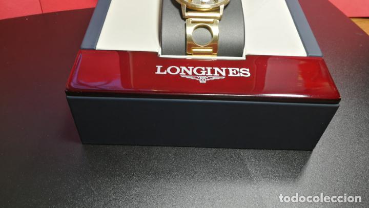 Relojes automáticos: MAGNIFICO RELOJ LONGINES AUTOMÁTICO de 1970, EN CAJA DE ORO DE 18K, Cal 505 - Foto 3 - 187434290