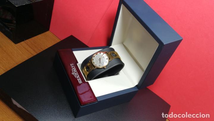Relojes automáticos: MAGNIFICO RELOJ LONGINES AUTOMÁTICO de 1970, EN CAJA DE ORO DE 18K, Cal 505 - Foto 24 - 187434290