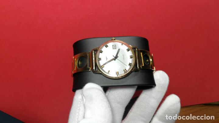 Relojes automáticos: MAGNIFICO RELOJ LONGINES AUTOMÁTICO de 1970, EN CAJA DE ORO DE 18K, Cal 505 - Foto 42 - 187434290