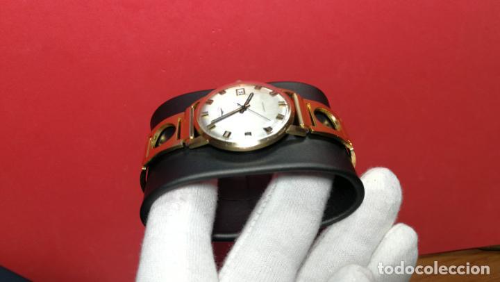 Relojes automáticos: MAGNIFICO RELOJ LONGINES AUTOMÁTICO de 1970, EN CAJA DE ORO DE 18K, Cal 505 - Foto 43 - 187434290