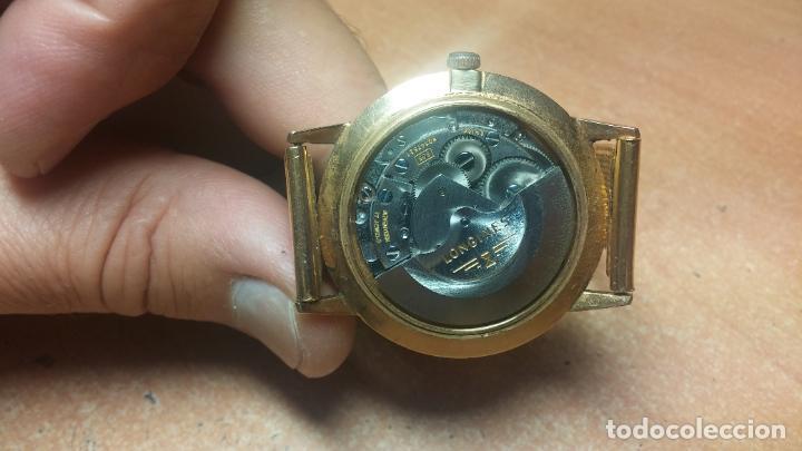 Relojes automáticos: MAGNIFICO RELOJ LONGINES AUTOMÁTICO de 1970, EN CAJA DE ORO DE 18K, Cal 505 - Foto 66 - 187434290