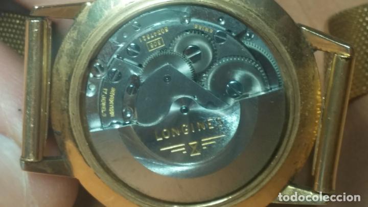Relojes automáticos: MAGNIFICO RELOJ LONGINES AUTOMÁTICO de 1970, EN CAJA DE ORO DE 18K, Cal 505 - Foto 68 - 187434290