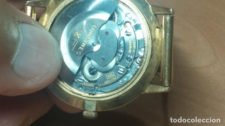 Relojes automáticos: MAGNIFICO RELOJ LONGINES AUTOMÁTICO de 1970, EN CAJA DE ORO DE 18K, Cal 505 - Foto 69 - 187434290