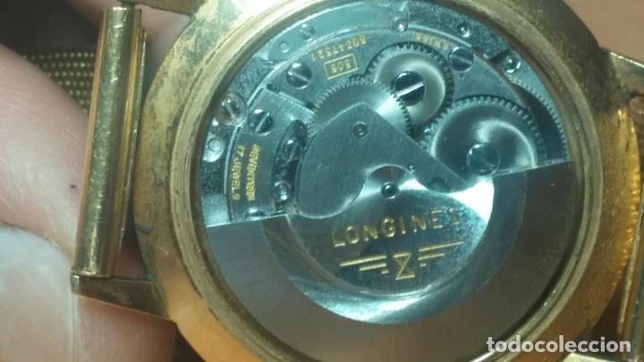 Relojes automáticos: MAGNIFICO RELOJ LONGINES AUTOMÁTICO de 1970, EN CAJA DE ORO DE 18K, Cal 505 - Foto 70 - 187434290