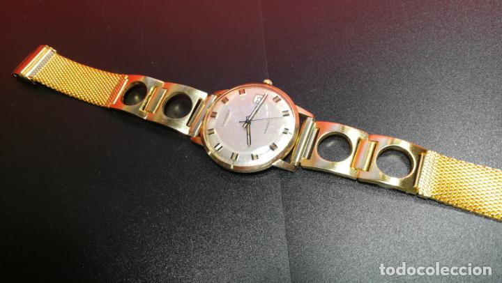 Relojes automáticos: MAGNIFICO RELOJ LONGINES AUTOMÁTICO de 1970, EN CAJA DE ORO DE 18K, Cal 505 - Foto 76 - 187434290