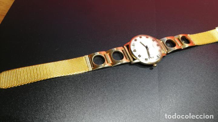 Relojes automáticos: MAGNIFICO RELOJ LONGINES AUTOMÁTICO de 1970, EN CAJA DE ORO DE 18K, Cal 505 - Foto 80 - 187434290