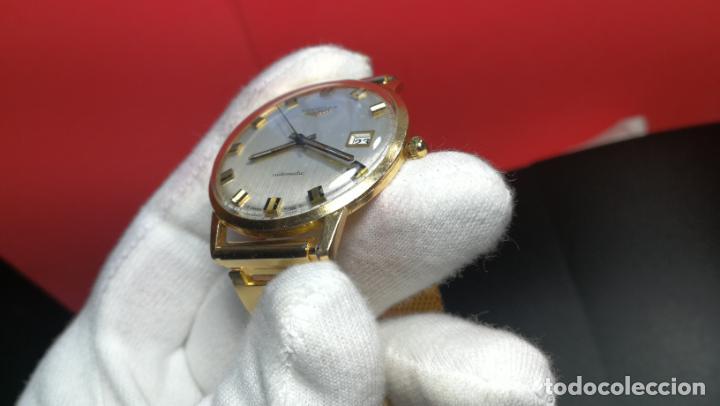 Relojes automáticos: MAGNIFICO RELOJ LONGINES AUTOMÁTICO de 1970, EN CAJA DE ORO DE 18K, Cal 505 - Foto 106 - 187434290