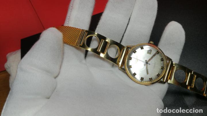 Relojes automáticos: MAGNIFICO RELOJ LONGINES AUTOMÁTICO de 1970, EN CAJA DE ORO DE 18K, Cal 505 - Foto 111 - 187434290