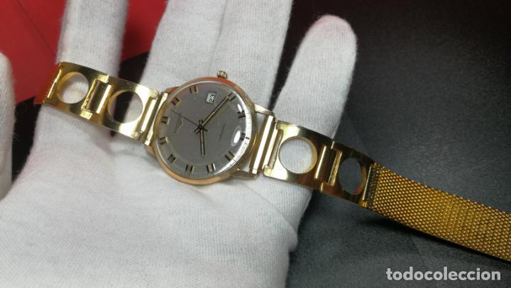 Relojes automáticos: MAGNIFICO RELOJ LONGINES AUTOMÁTICO de 1970, EN CAJA DE ORO DE 18K, Cal 505 - Foto 112 - 187434290