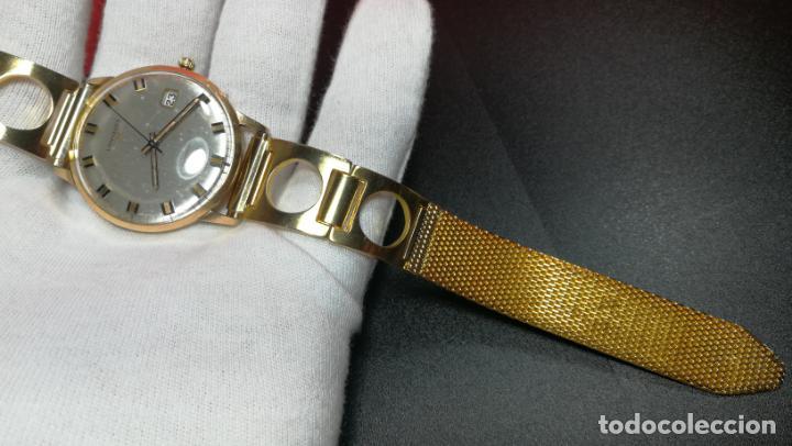 Relojes automáticos: MAGNIFICO RELOJ LONGINES AUTOMÁTICO de 1970, EN CAJA DE ORO DE 18K, Cal 505 - Foto 113 - 187434290