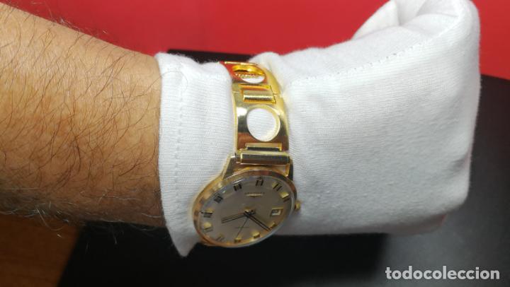 Relojes automáticos: MAGNIFICO RELOJ LONGINES AUTOMÁTICO de 1970, EN CAJA DE ORO DE 18K, Cal 505 - Foto 132 - 187434290