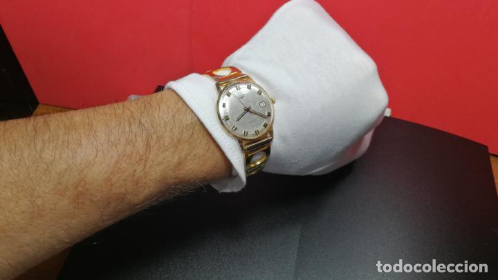 Relojes automáticos: MAGNIFICO RELOJ LONGINES AUTOMÁTICO de 1970, EN CAJA DE ORO DE 18K, Cal 505 - Foto 141 - 187434290