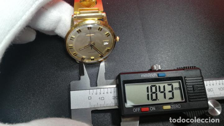 Relojes automáticos: MAGNIFICO RELOJ LONGINES AUTOMÁTICO de 1970, EN CAJA DE ORO DE 18K, Cal 505 - Foto 150 - 187434290