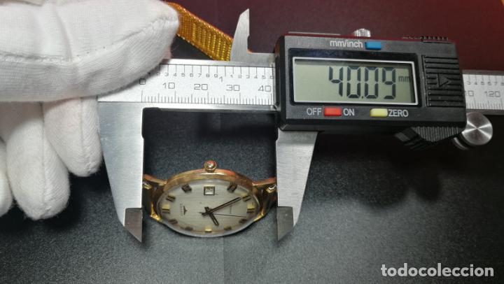 Relojes automáticos: MAGNIFICO RELOJ LONGINES AUTOMÁTICO de 1970, EN CAJA DE ORO DE 18K, Cal 505 - Foto 151 - 187434290