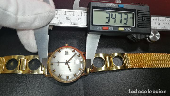 Relojes automáticos: MAGNIFICO RELOJ LONGINES AUTOMÁTICO de 1970, EN CAJA DE ORO DE 18K, Cal 505 - Foto 152 - 187434290