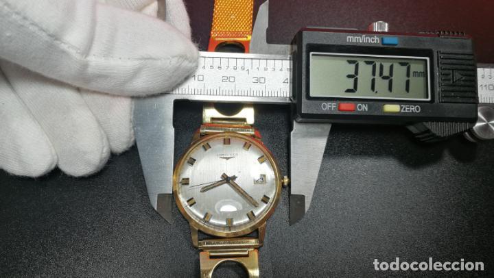 Relojes automáticos: MAGNIFICO RELOJ LONGINES AUTOMÁTICO de 1970, EN CAJA DE ORO DE 18K, Cal 505 - Foto 153 - 187434290