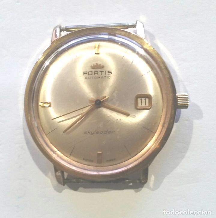 FORTIS SKYLEADER RELOJ AUTOMÁTICO CALENDARIO . MED. 35 MM SIN CONTAR CORONA (Relojes - Relojes Automáticos)