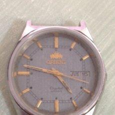 Relojes automáticos: RELOJ ORIENT CRYSTAL AUTOMÁTICO 17 JEWELS. Lote 187867080
