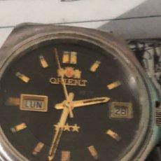 Relojes automáticos: RELOJ ORIENT 3 ESTRELLAS AUTOMÁTICO FUNCIONA. Lote 188663226
