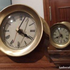 Relojes automáticos: RELOJ DOBLE ESFERA - DISEÑO NÁUTICO. Lote 189094507