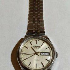 Relojes automáticos: VINTAGE DUWARD AUTOMATICO 22 RUBIS CALIBRE LORSA P76 - 37,8 M/M. C/C. - 36 M/M.Ø. Lote 189112802