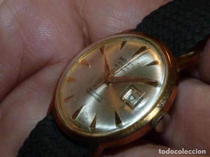 BONITO RELOJ MORTI PRIMA CALIBRE AUTOMATICO EB 8126 SWISS MADE 21 RUBIS 1965 (Relojes - Relojes Automáticos)