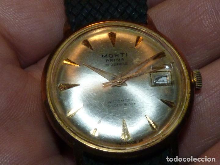Relojes automáticos: BONITO RELOJ MORTI PRIMA CALIBRE AUTOMATICO EB 8126 SWISS MADE 21 RUBIS 1965 - Foto 2 - 189440058