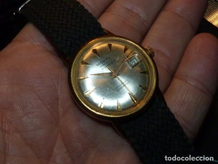 Relojes automáticos: BONITO RELOJ MORTI PRIMA CALIBRE AUTOMATICO EB 8126 SWISS MADE 21 RUBIS 1965 - Foto 5 - 189440058