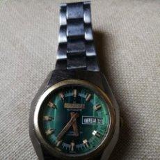 Relojes automáticos: ANTIGUO RELOJ AUTOMÁTICO. MARCA KROM-NEX. INCABLOC WATERPROOF.SWISS.AÑOS 60/70. CABALLERO DE PULSERA. Lote 189567797