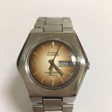 Relojes automáticos: RELOJ CYMA CONQUISTADOR BY SYNCHRON HEXAGONAL AUTOMÁTICO. Lote 168969164