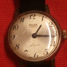 Relojes automáticos: RELOJ KELEK 17 RUBIS ANTICHOC,SWUSSE MADE.AÑOS 40,SEÑORA.. Lote 189764271