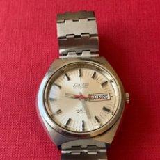 Relojes automáticos: MAGNÍFICO RELOJ DE PULSERA AUTOMÁTICO EXACTUS 25 JEWELS. FUNCIONA. INCABLOC. Lote 190121302