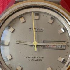 Relojes automáticos: PRECIOSO RELOJ DE PULSERA AUTOMÁTICO TITÁN. FUNCIONA. Lote 190121771