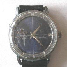 Relojes automáticos: RELOJ PULSERA POTENS DISTINCIÓN, CALENDARIO 21 RUBIS, FUNCIONA. MED. 3 CM SIN CORONA. Lote 190134230