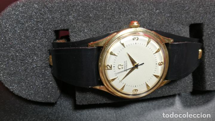 Relojes automáticos: RELOJ OMEGA AUTOMÁTICO BOOMPER CHONOMETRE DEL AÑO 1954 CAL 354 en CAJA DE ORO de 18K - Foto 23 - 190390533