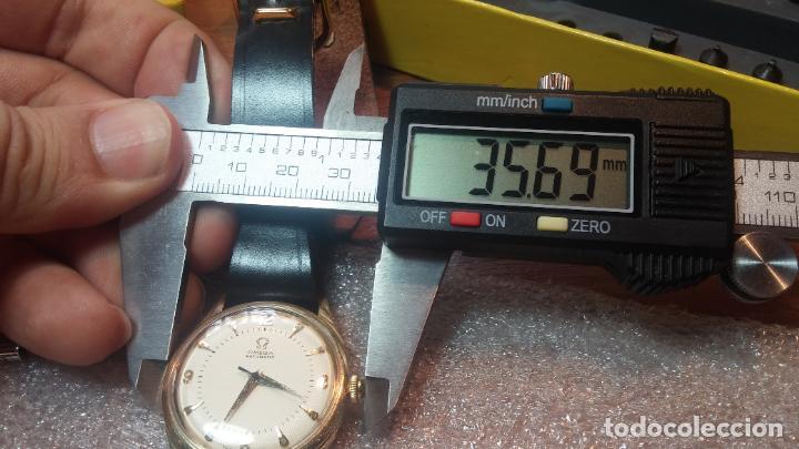 Relojes automáticos: RELOJ OMEGA AUTOMÁTICO BOOMPER CHONOMETRE DEL AÑO 1954 CAL 354 en CAJA DE ORO de 18K - Foto 66 - 190390533