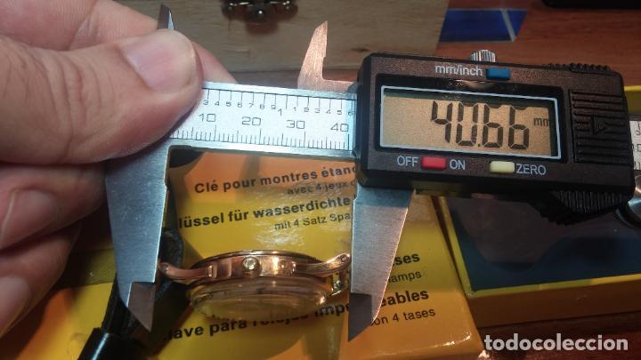 Relojes automáticos: RELOJ OMEGA AUTOMÁTICO BOOMPER CHONOMETRE DEL AÑO 1954 CAL 354 en CAJA DE ORO de 18K - Foto 67 - 190390533