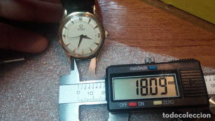 Relojes automáticos: RELOJ OMEGA AUTOMÁTICO BOOMPER CHONOMETRE DEL AÑO 1954 CAL 354 en CAJA DE ORO de 18K - Foto 68 - 190390533