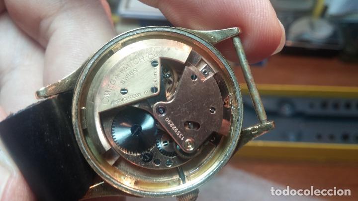 Relojes automáticos: RELOJ OMEGA AUTOMÁTICO BOOMPER CHONOMETRE DEL AÑO 1954 CAL 354 en CAJA DE ORO de 18K - Foto 71 - 190390533