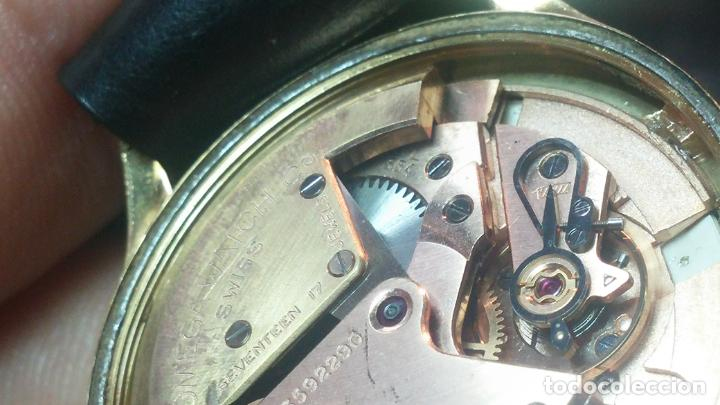 Relojes automáticos: RELOJ OMEGA AUTOMÁTICO BOOMPER CHONOMETRE DEL AÑO 1954 CAL 354 en CAJA DE ORO de 18K - Foto 72 - 190390533
