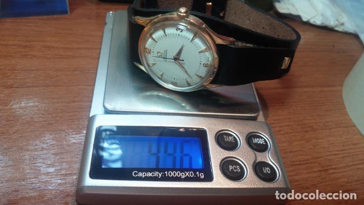 Relojes automáticos: RELOJ OMEGA AUTOMÁTICO BOOMPER CHONOMETRE DEL AÑO 1954 CAL 354 en CAJA DE ORO de 18K - Foto 75 - 190390533