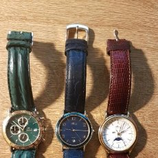 Relojes automáticos: 3 RELOJES LOTUS DE PULSERA. Lote 190627706