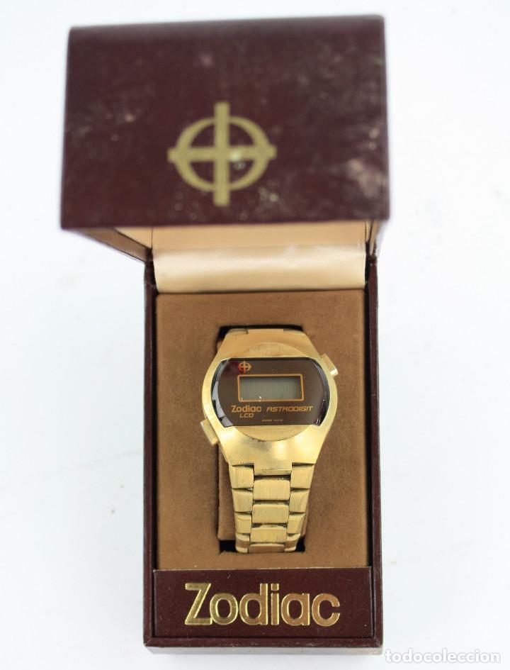 Relojes automáticos: RELOJ ZODIAC, EN CAJA ORIGINAL. - Foto 2 - 190692376