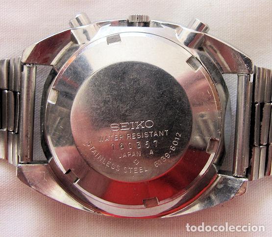 Relojes automáticos: RELOJ SEIKO CRONO CRONOGRAFO AUTOMATICO VINTAGE - Foto 4 - 190735467