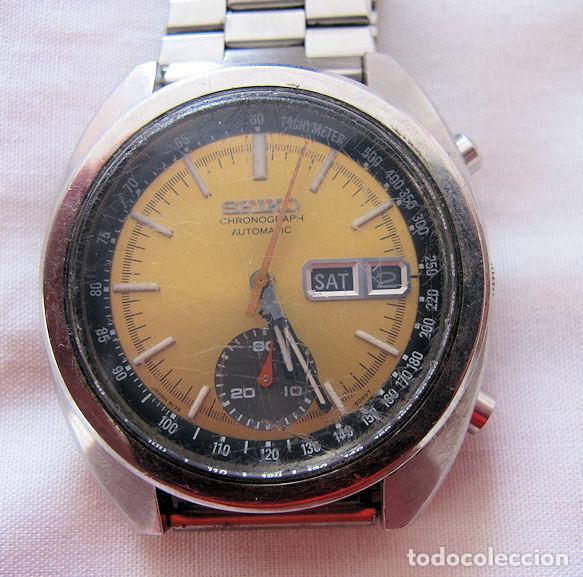 RELOJ SEIKO CRONO CRONOGRAFO AUTOMATICO VINTAGE (Relojes - Relojes Automáticos)